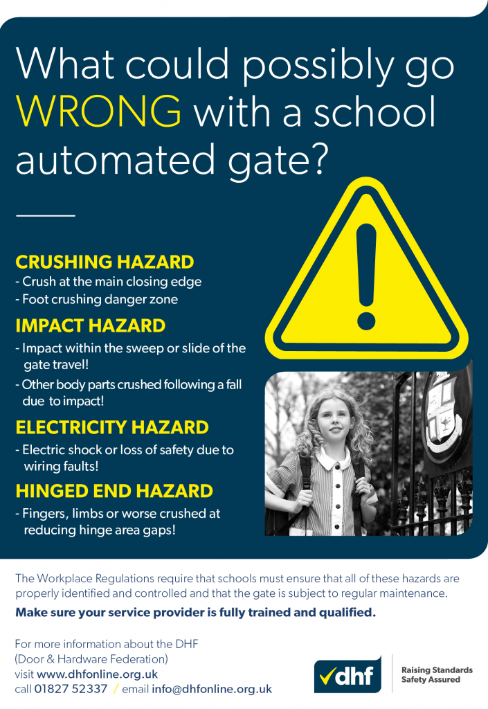 What could possibly go wrong with an automated school gate?