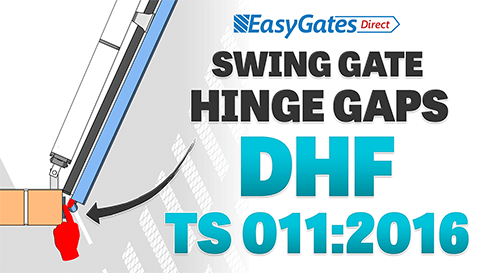 How to Secure Electric Swing Gate Hinge Gaps – DHF TS 011:2016