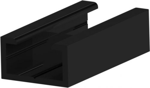 ASO Safety Edges – Black Aluminium