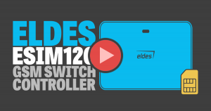 ELDES ESIM 120 GSM SWITCH CONTROLLER