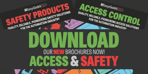 Download our NEW Access Control & Safety Brochures NOW!
