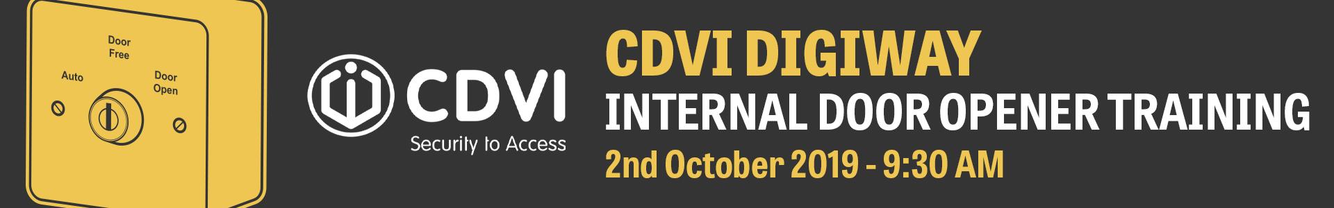 CDVI Training