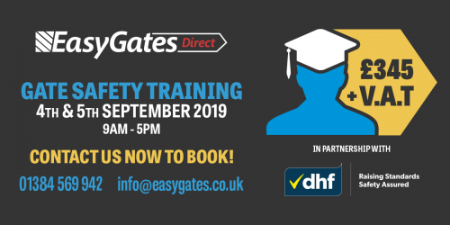Automated Gate Safety Diploma Course