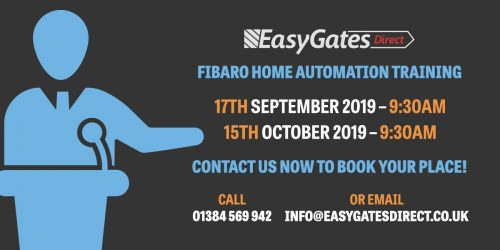EasyGates Direct Offering FIBARO Home Automation Training
