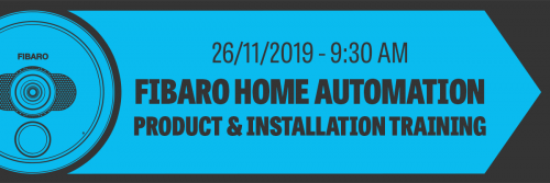 FIBARO Home Automation Training – November
