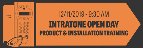 Intratone GSM Access Control Product Training & Programming – November
