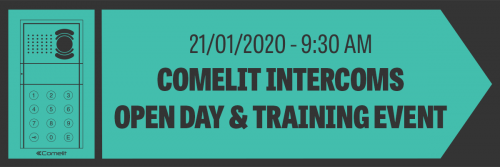 COMELIT Intercom Door Entry Systems Training – January