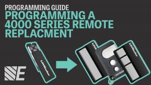 LiftMaster 4000 Series Remote Programming