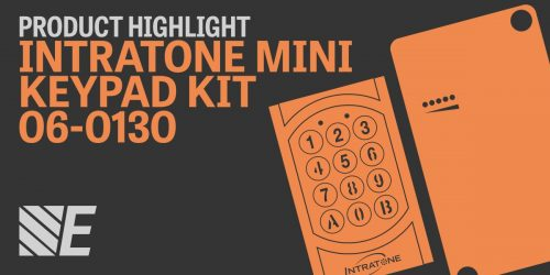 Product Highlight – Intratone Mini Keypad Kit