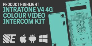 Product Highlight – Intratone V4 4G Colour Video Intercom Kits