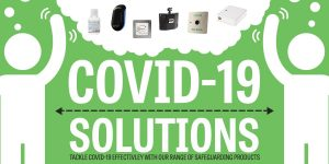 COVID-19 Solutions: Product Range to keep employees and customers safe at work
