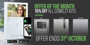 Offer of the Month: October 10% off All Comelit Intercom Kits