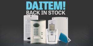 Product Return: Daitem Intercoms back in stock!