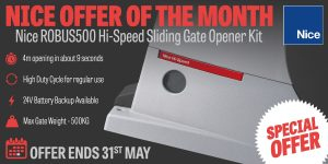 May Offer of the Month – Nice ROBUS500 Hi-Speed