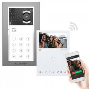 Comelit iKall Video Intercom Kit (with Alexa Support)