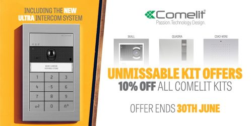 June Offer of the Month – 10% Off Comelit Kits