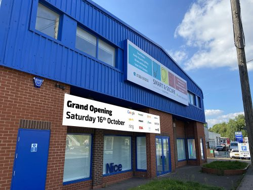 Smart & Secure Centre Showroom – Not Long Now!