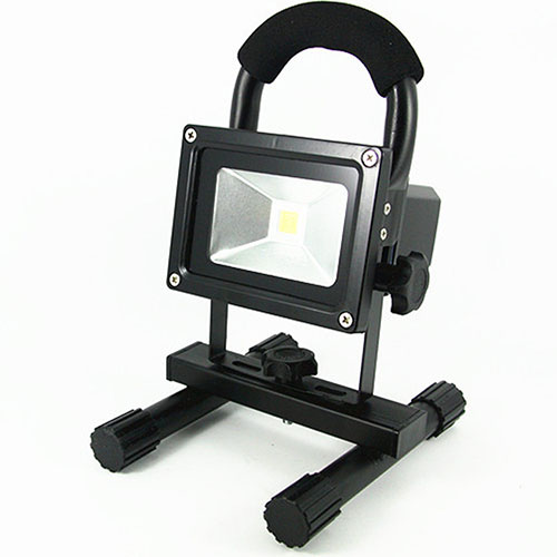 Light Shop Direct Uk: 10W LED Rechargeable Floodlight