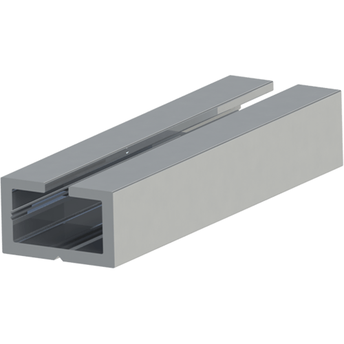 ASO AL 15-9 Aluminium Profile (per m)
