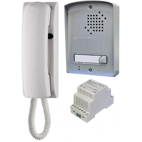 ACI Farfisa 1UPSD Audio Intercom Kit