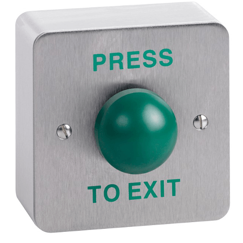 Cdvi Rte Ssd Domed Press To Exit Button Surface
