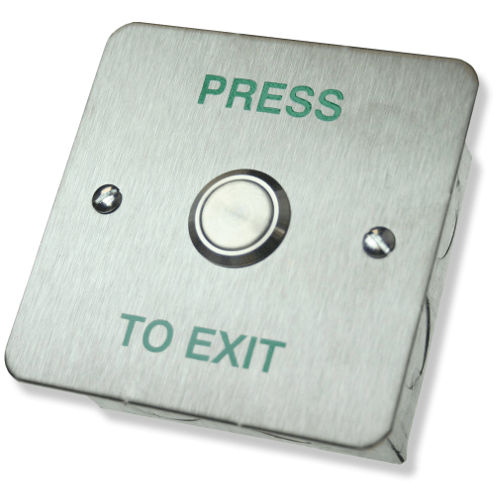 Cdvi Rte Sf Press To Exit Button Flush