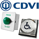 CDVI Push Buttons