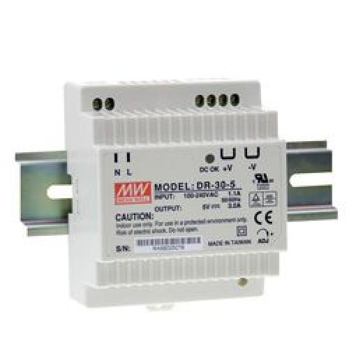 Dr 60 24 Din Rail Power Supply 24v Dc 2 5a
