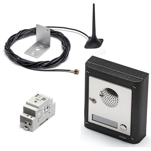 Videx 4K Series Flush Mount GSM Intercom Systems - 1 to 10 Users