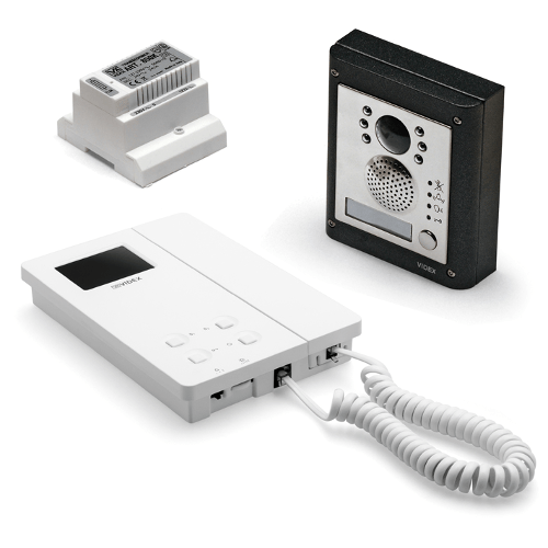 Videx CVK4K 6000 Series 1 or 2 Button, Surface or Flush Mounted Colour Video Kit