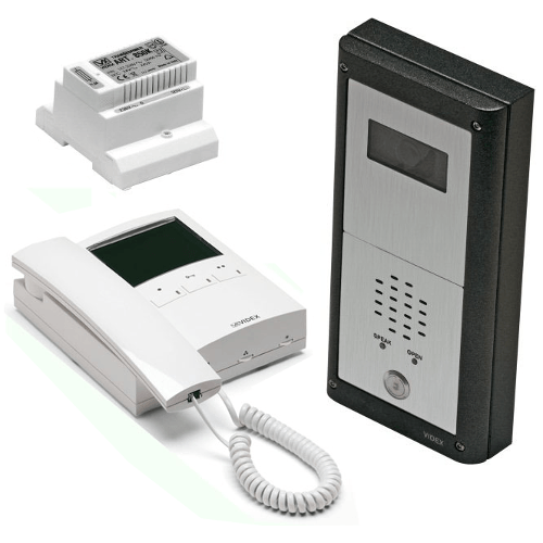 Videx CVR4KV 1 or 2 Button, Surface or Flush Mounted Vandal Resistant Colour Video Kit