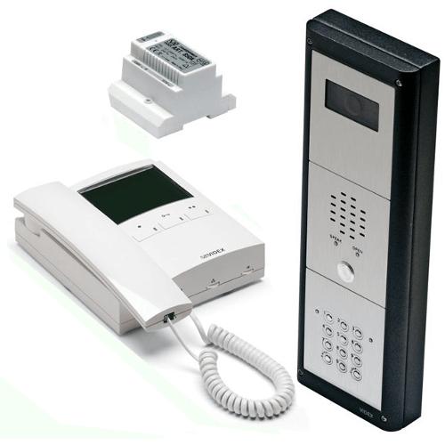 Videx CVR4KV 1 or 2 Button, Surface or Flush Mounted Vandal Resistant Colour Video Kit with Keypad