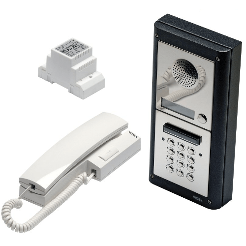 Videx 4000 Series Surface Mounted Audio Intercom Systems with Keypad - 1 to 12 Users