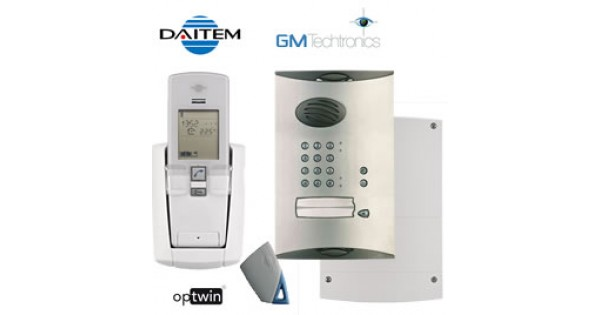 Daitem Sc902au Wireless Audio Intercom System With Keypad
