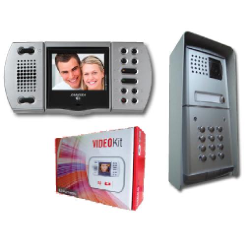 Aci Farfisa Eh9161fplcw Colour Intercom System With Keypad