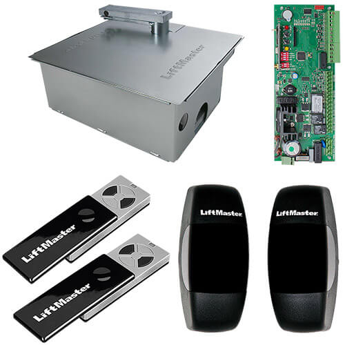 LiftMaster SUB324KS-EV Underground Gate Opener Kit - Single (24v, 2.5m, 300kg)