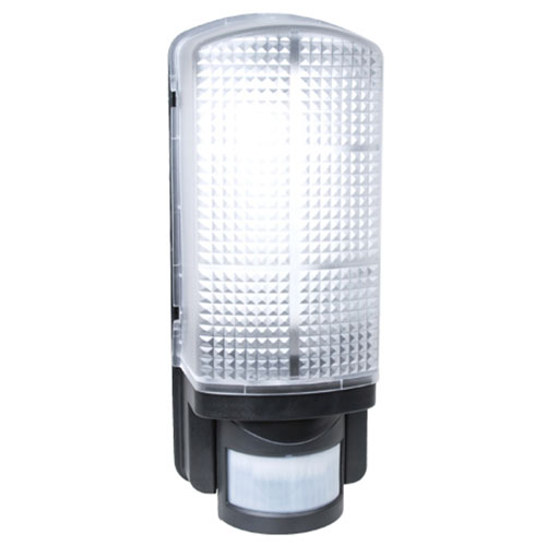 Warehouse Lighting Lux Levels Uk: 9W LED Bulkhead + Integrated PIR