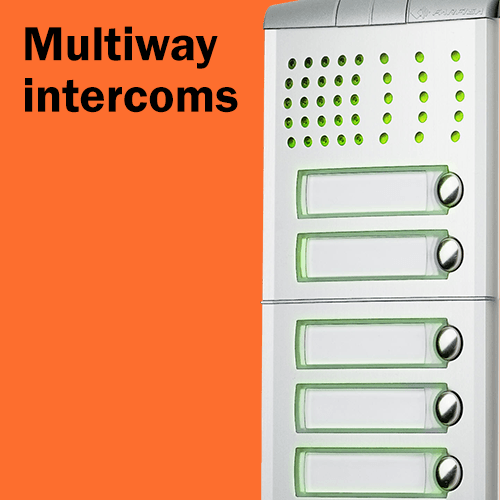 Call us for Multiway Intercoms - Best Prices Guaranteed