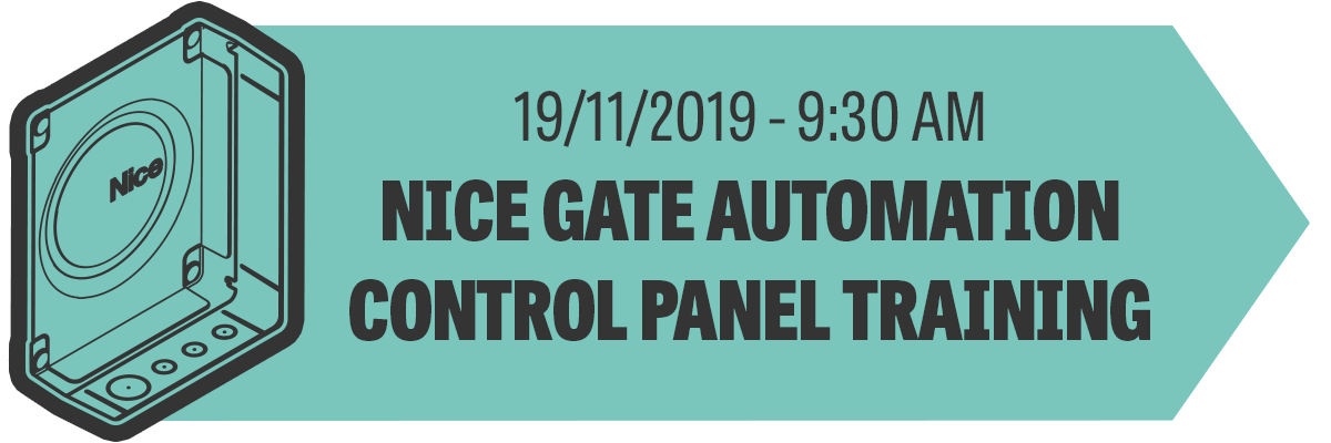 Nice Gate Automation Control Panel Training