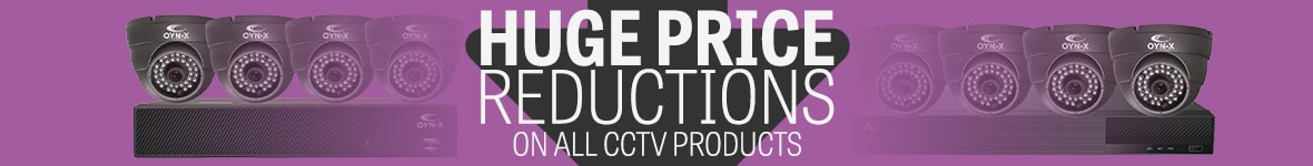 Huge price reduction on all cctv products